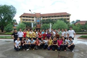 Tập Thể Lớp Anh B – K41 [2006 – 2010] Đại Học Sư Phạm Thái Nguyên