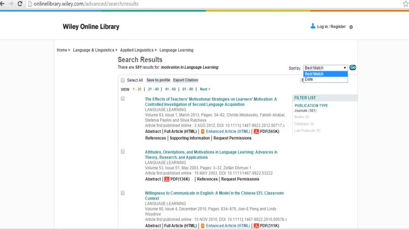~ ảnh chụp màn hình Wiley Online Library